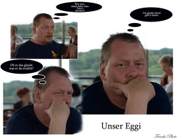 Unser Egbert in Action
