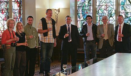 herzlicher Empfang am Vorabend des Luxemburgischen Nationalfeiertages