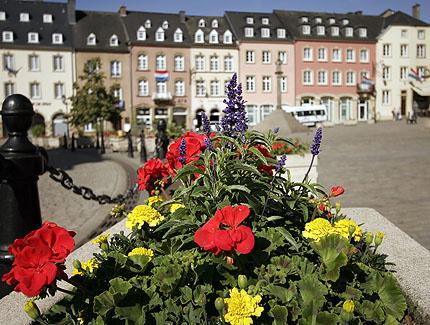 Marktplatz in Echternach