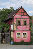 Haus in Rot